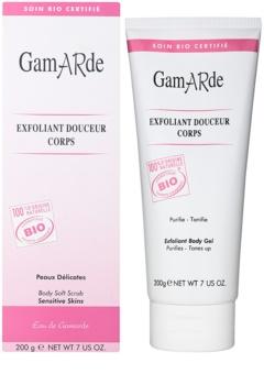 Gamarde Hygiene jemný zklidňující peelingový gel na tělo