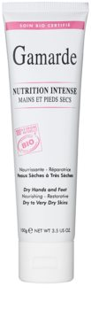Gamarde Nutrition Intense intenzivní regenerační krém na ruce a nohy pro suchou až velmi suchou pokožku