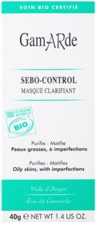 Gamarde Sebo-Control maseczka oczyszczająca, redukująca sebum i zmniejszająca pory