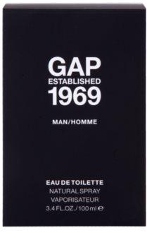 Gap Gap Established 1969 for Men toaletní voda pro muže 100 ml