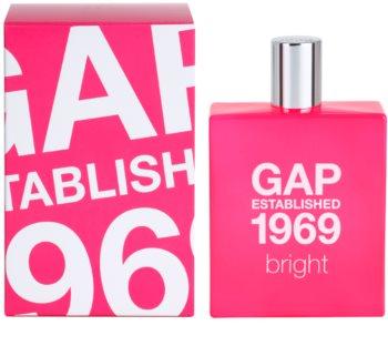 Gap Gap Established 1969 Bright eau de toilette pour femme
