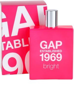 Gap Gap Established 1969 Bright toaletní voda pro ženy 100 ml