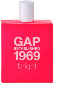 Gap Established 1969 Bright Eau de Toilette for Women 100 ml