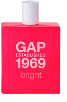 Gap Gap Established 1969 Bright eau de toilette nőknek 100 ml
