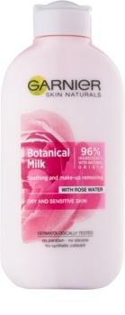 Garnier Botanical odličovacie mlieko pre suchú až citlivú pleť