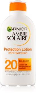 Garnier Ambre Solaire leite after sun hidratante  SPF 20