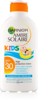 Garnier Ambre Solaire Kids napvédő tej gyermekeknek SPF 30