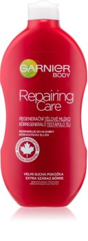 Garnier Repairing Care latte corpo rigenerante per pelli molto secche