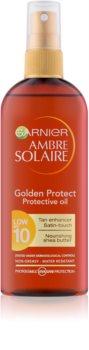 Garnier Ambre Solaire Golden Protect napolaj SPF 10