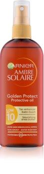 Garnier Ambre Solaire Golden Protect Sonnenöl LSF 10