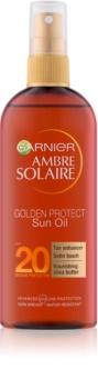 Garnier Ambre Solaire Golden Protect óleo solar SPF 20