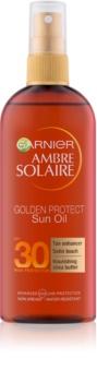 Garnier Ambre Solaire Golden Protect olej na opalování SPF30