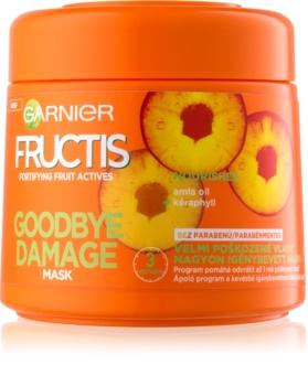 Garnier Fructis Damage Repair posilujúca maska pre veľmi poškodené vlasy