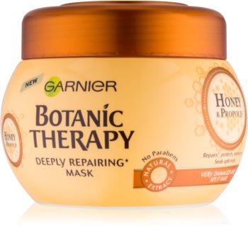 Garnier Botanic Therapy Honey maseczka regenerująca do włosów zniszczonych