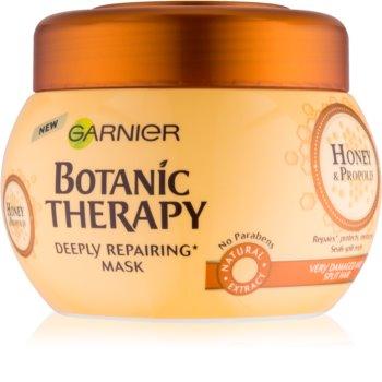 Garnier Botanic Therapy Honey obnovitvena maska za poškodovane lase