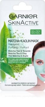 Garnier Skin Active kaolínová pleťová maska pre mastnú a zmiešanú pleť