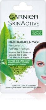 Garnier Skin Active kaolínová pleťová maska pro mastnou a smíšenou pleť