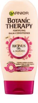 Garnier Botanic Therapy Ricinus Oil krepilni balzam za oslabljene lase, ki so nagnjeni k izpadanju brez parabenov