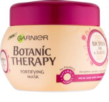 Garnier Botanic Therapy Ricinus Oil krepilna maska za oslabljene lase, ki so nagnjeni k izpadanju