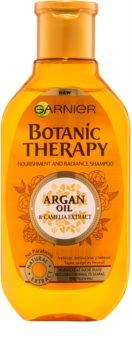 Garnier Botanic Therapy Argan Oil szampon odżywczy dla włosów normalnych bez połysku