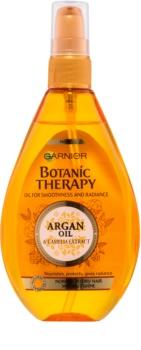 Garnier Botanic Therapy Argan Oil vyživující olej pro normální vlasy bez lesku