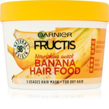 Garnier Fructis Banana Hair Food Voedende Masker  voor Droog Haar