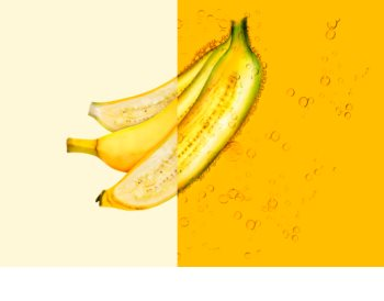 Garnier Fructis Banana Hair Food maschera rivitalizzante per capelli secchi
