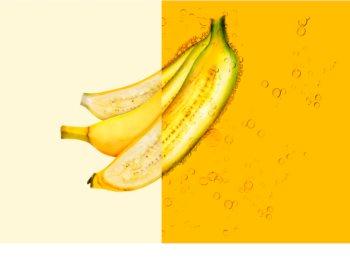 Garnier Fructis Banana Hair Food voedend masker voor droog haar