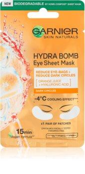 Garnier Skin Naturals Moisture+ Fresh Look spodbujajoča maska za predel okoli oči