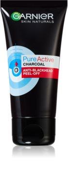 Garnier Pure Active mască exfoliantă împotriva punctelor negre, cu cărbune activ