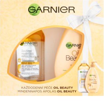Garnier Oil Beauty zestaw kosmetyków I.