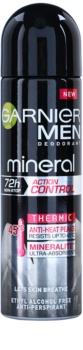 Garnier Men Mineral Action Control Thermic Antitranspirant Deospray