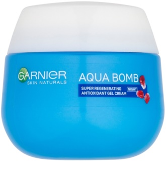 Garnier Skin Naturals Aqua Bomb regeneracijska antioksidantna gel krema za noč
