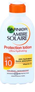 Garnier Ambre Solaire молочко для засмаги SPF 10