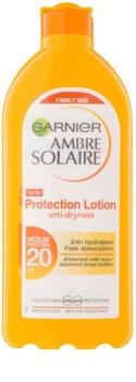Garnier Ambre Solaire захисне молочко для засмаги SPF 20