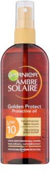 Garnier Ambre Solaire Golden Protect Sonnenöl SPF 10
