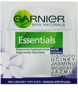 Garnier Essentials creme regenerador de noite  para todos os tipos de pele