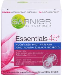 Garnier Essentials нощен крем  против бръчки