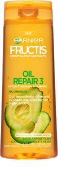 Garnier Fructis Oil Repair 3 posilující šampon pro suché a poškozené vlasy