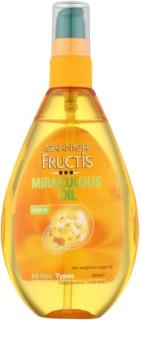 Garnier Fructis Miraculous Oil поживна олійка для всіх типів волосся