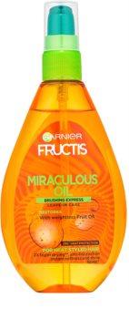 Garnier Fructis Miraculous Oil Skyddande olja för ostyrigt hår