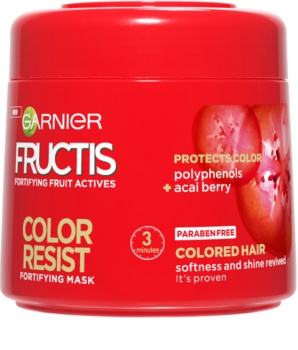 Garnier Fructis Color Resist Maske mit ernährender Wirkung zum Schutz der Farbe