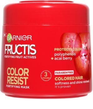 Garnier Fructis Color Resist Voedende Masker  voor Bescherming van de Kleur
