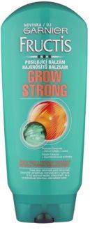 Garnier Fructis Grow Strong posilující balzám pro slabé vlasy