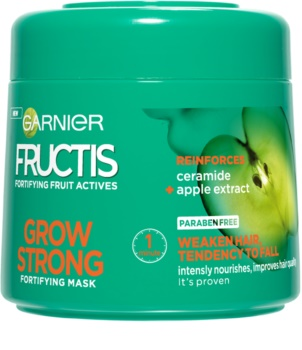 Garnier Fructis Grow Strong erősítő maszk a gyenge hajra