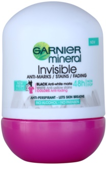 Garnier Mineral Invisible antitranspirante roll-on
