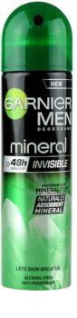 Garnier Men Mineral Invisible spray anti-perspirant