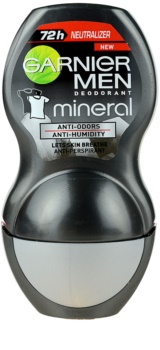 Garnier Men Mineral Neutralizer Antiperspirant Roll-On To Treat White Marks