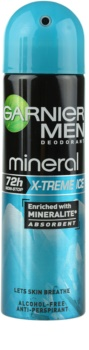 Garnier Men Mineral X-treme Ice antiperspirant ve spreji
