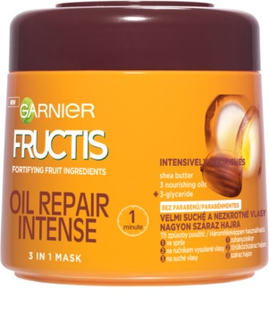 Garnier Fructis Oil Repair Intense máscara multifuncional 3 em 1
